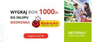 Read more about the article Jak prawie wygrałem gigantyczny bon od Biedronki